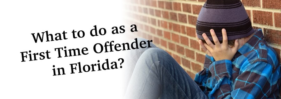 What to do as a First Time Offender in Florida?