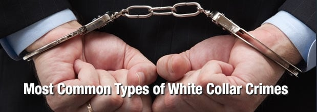 Most Common Types of White Collar Crimes